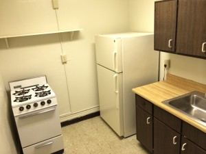 1 Bedroom- Kitchen