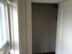 1 Bedroom- Bedroom closet